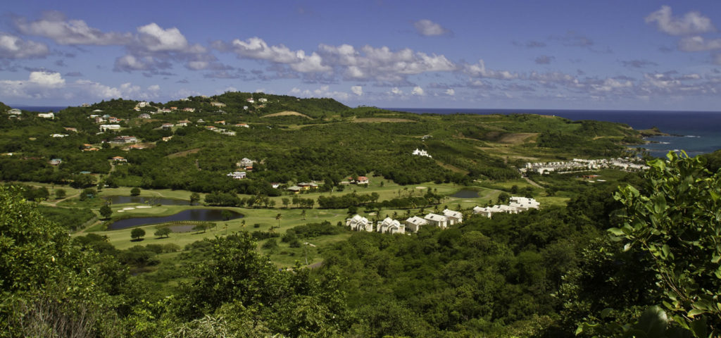 Golf course, St Lucia