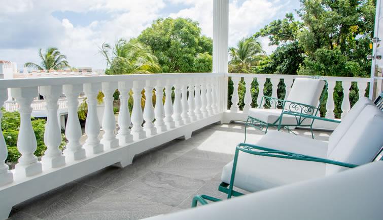 Castles in Paradise condo 1 - balcony