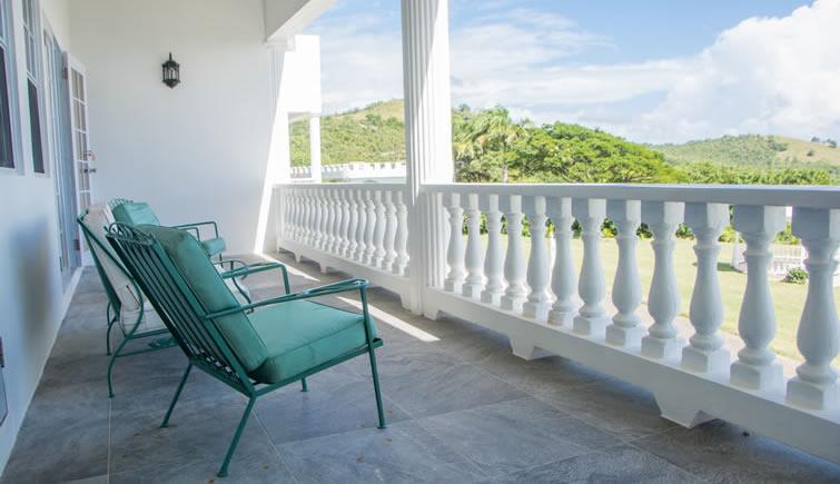 Castles in Paradise condo 3 - balcony