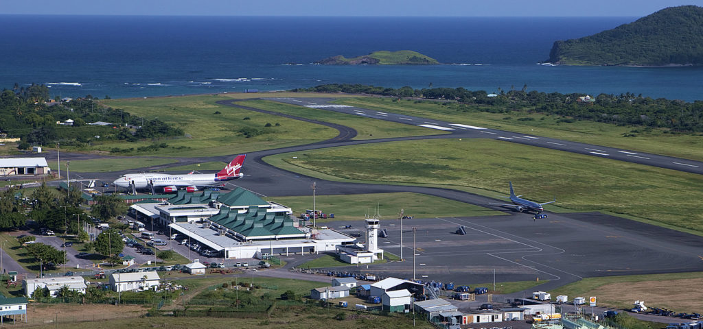 Hewanorra International Airport, St Lucia